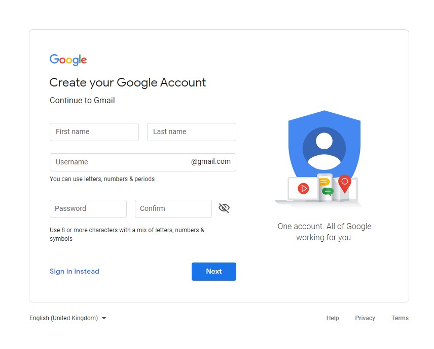 create-your-google-account
